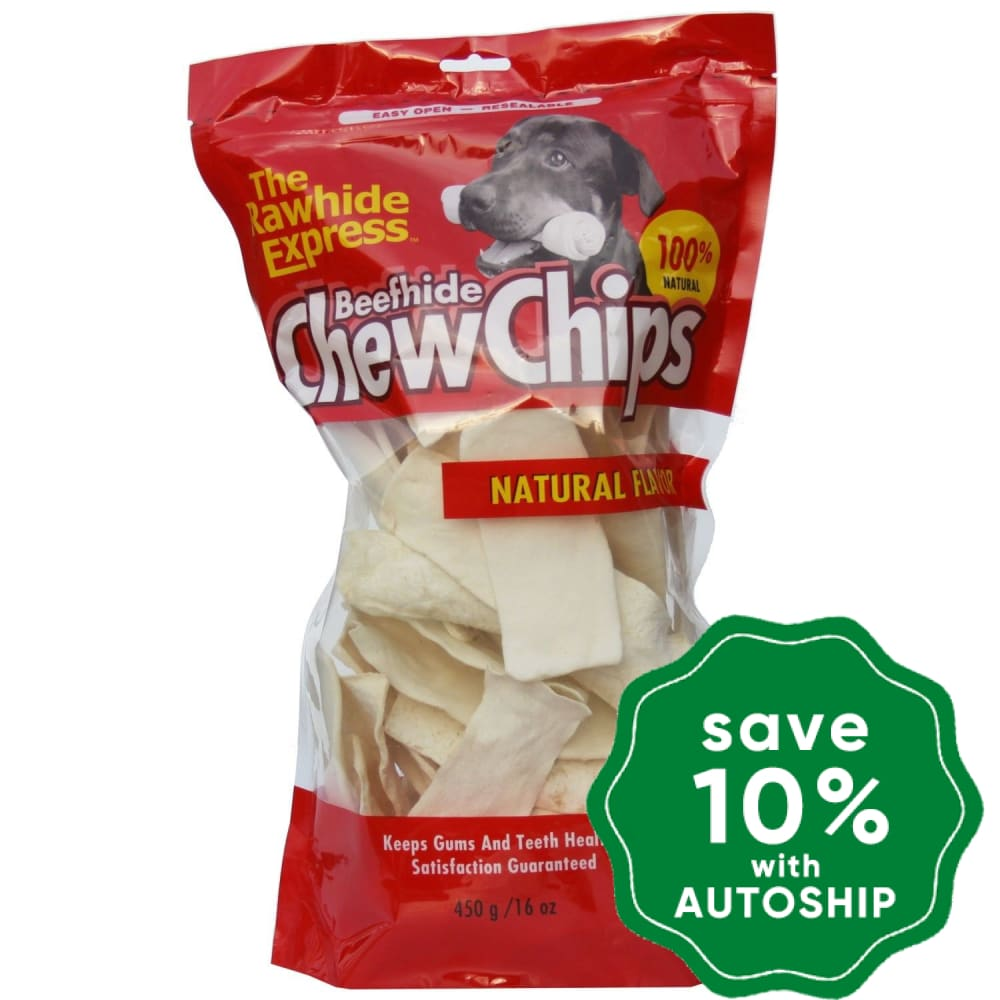 The Rawhide Express - Chew Chips - Natural - 450G - PetProject.HK