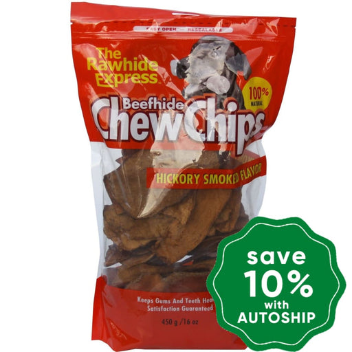 The Rawhide Express - Chew Chips - Smoked Bacon - 450G - PetProject.HK