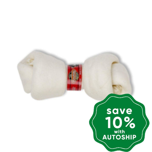 The Rawhide Express - Knotted Bone - Beef - 10-12CM - PetProject.HK