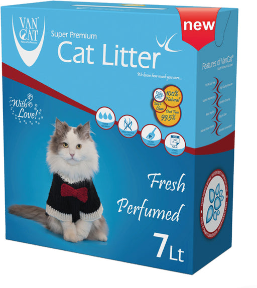 VANCAT - Anti Bacteria - Bentonite Fresh Perfumed Cat Litter - 7L (6Kg)
