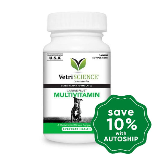 Vetriscience - Canine Plus Multivitamin Chewable Tablets 90Tabs Dogs