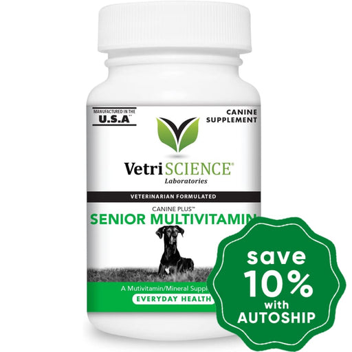 Vetriscience - Canine Plus Senior Multivitamin Chewable Tablets 60Tabs Dogs