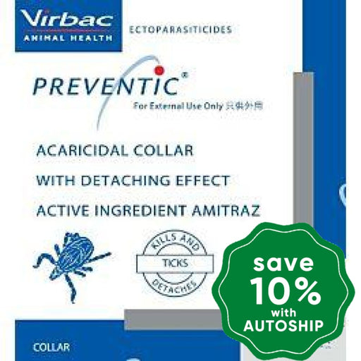 Virbac - Preventic Dog Collar for Killing Ticks (Vet Recommended) - PetProject.HK