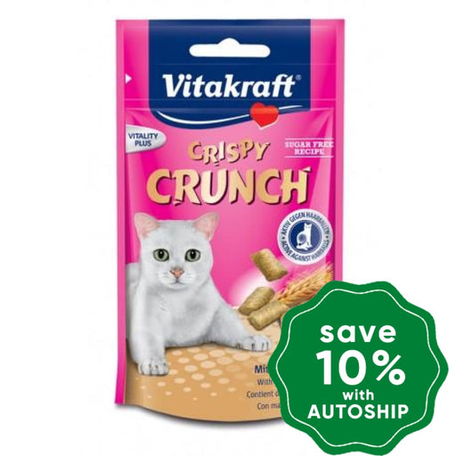 Vitakraft - Crispy Crunch for Cats - Hair Ball Formula - 60G - PetProject.HK