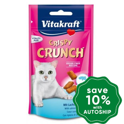 Vitakraft - Crispy Crunch with Salmon for Cats - 60G - PetProject.HK