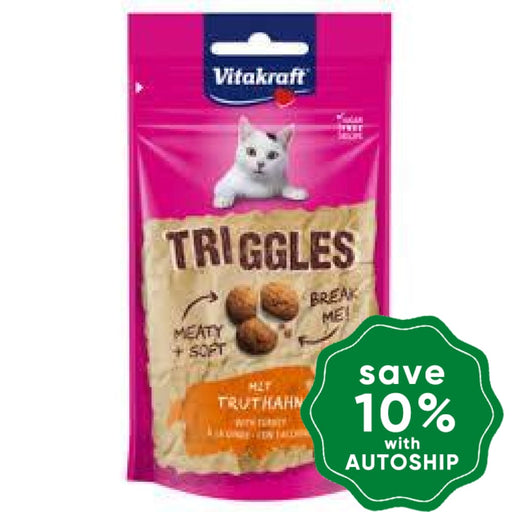 Vitakraft - Triggles for Cats - Turkey - 40G - PetProject.HK