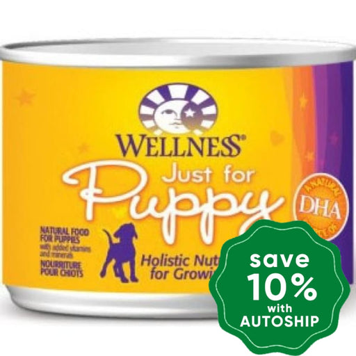 Wellness - Complete Health - Canned Dog Food - Just for Puppy - 6OZ (24 Cans) - PetProject.HK