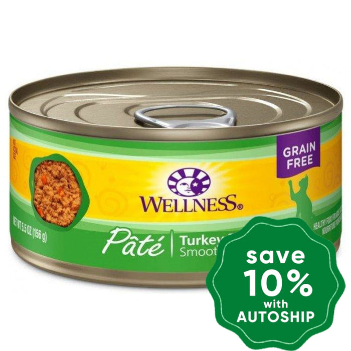 Wellness - Complete Health Pate - Grain Free Canned Cat Food - Turkey - 5.5OZ (4 Cans) - PetProject.HK