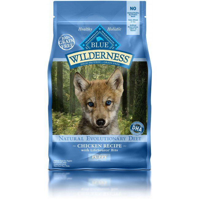 BLUE Wilderness - Puppy - Chicken Recipe - 24LB