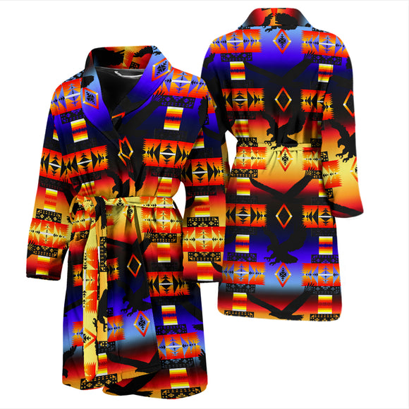 Eagle Horizon Men's Bath Robe