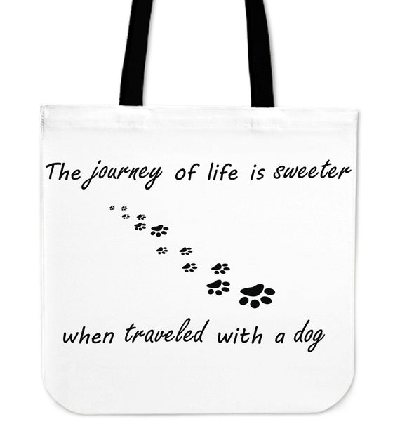 The Journey Of Life Tote Bag