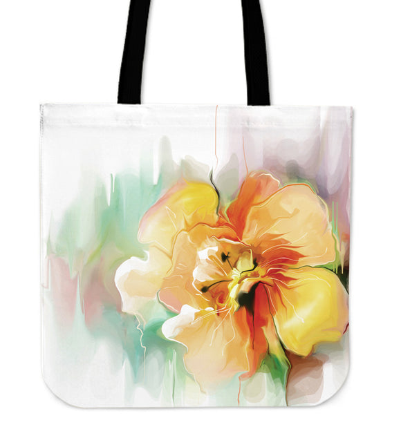 Floral Cloth Tote