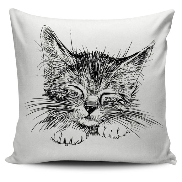 Little Cat  Pillow Cover