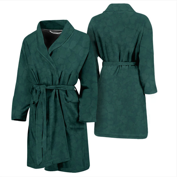 Clover Green Men's Bath Robe