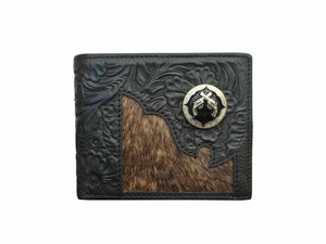 """Gun"" Men's Short Wallet"