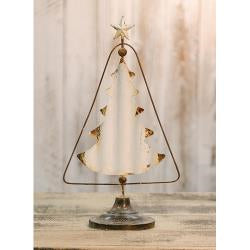 Vintage White Metal Tree