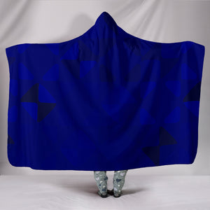 Midnight Blue Hooded Blanket
