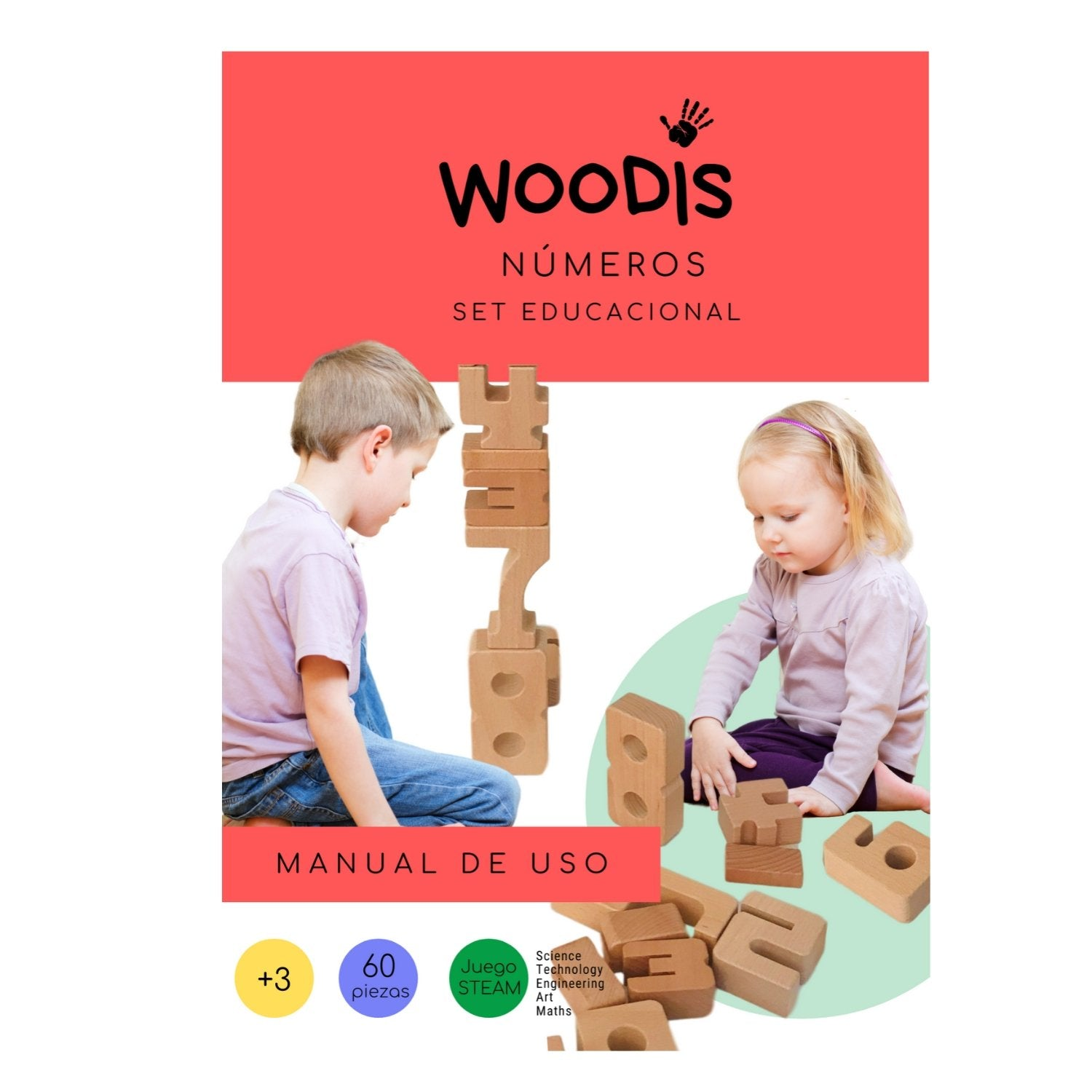 Woodis Números, Manual de Uso