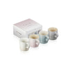 Set 4 Tazas 200Ml Capp M/Sp/Ss/Mg