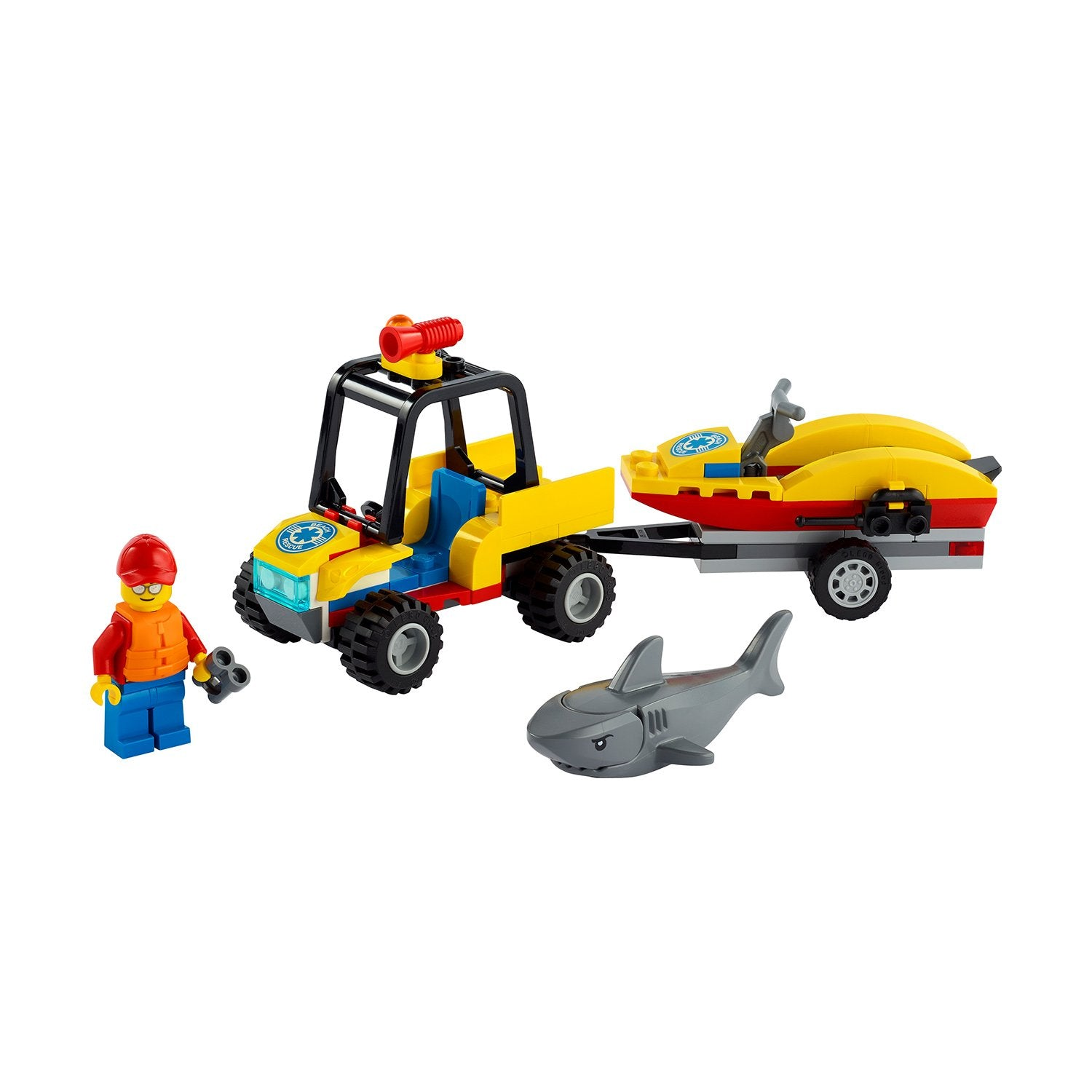 LEGO CITY Beach Rescue ATV