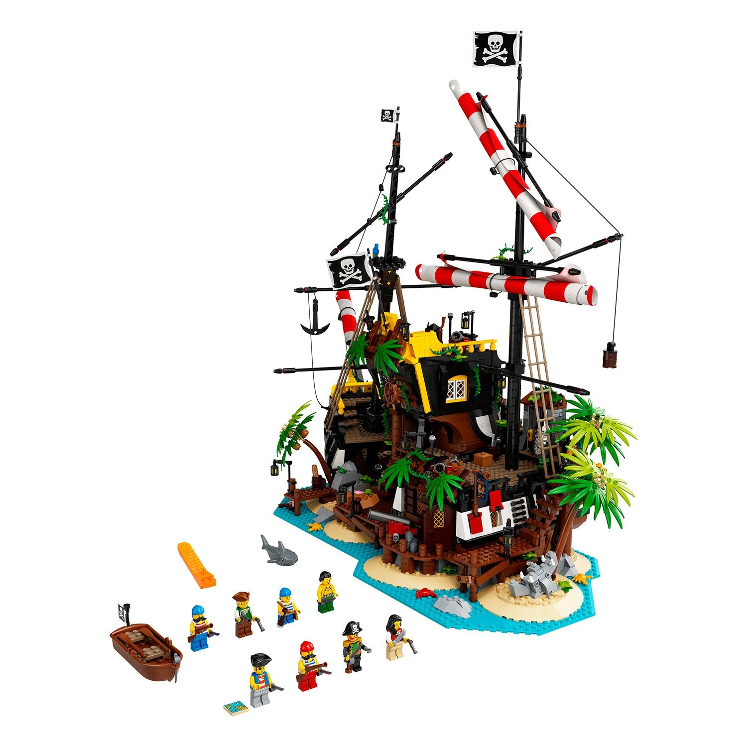LEGO Ideas Piratas de Bahía Barracuda