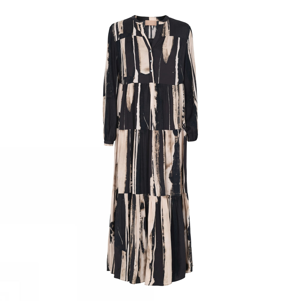 Gustav Brooklyn Long Frill Dress
