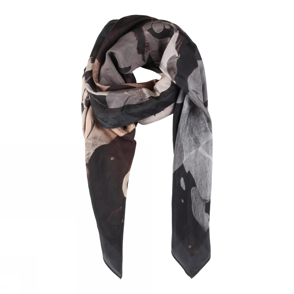 Gustav Allis Printed Silk Scarf