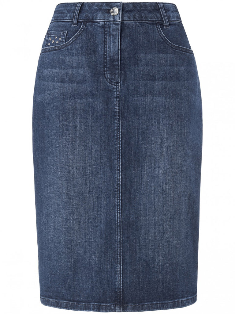 Basler 5 Pocket Denim Skirt