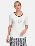 Basler T-Shirt with embellishment