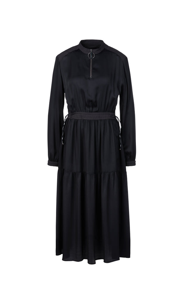 Marc Cain Dress Flowing viscose dress