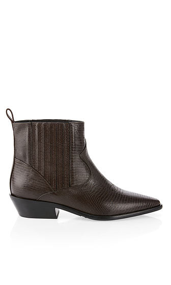 Marc Cain Ankle Boot in cowboy style