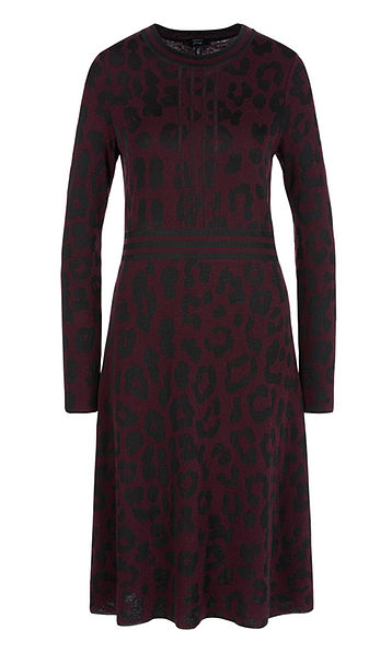Marc Cain Dress with subtle print