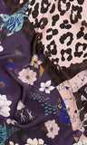 Marc Cain Silk Scarf with Print mix