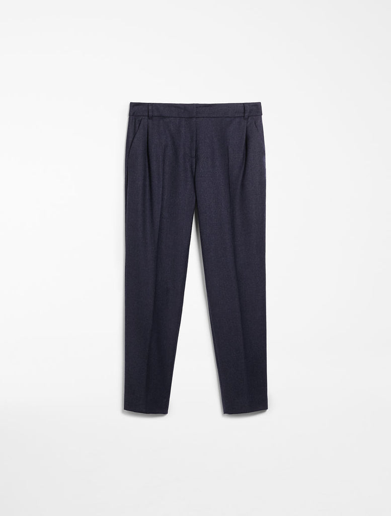 Weekend Max Mara Ondata Trousers in Navy