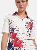 Basler Printed Polo T-Shirt