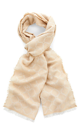 Marc Cain Scarf with MC monogram
