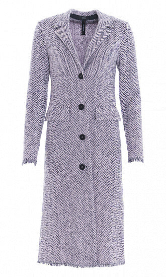 "Marc Cain Coat ""Knitted in Germany"""