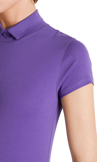 Marc Cain T-shirt with stand up collar