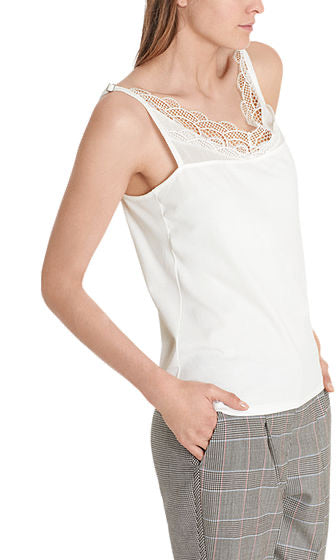 Marc Cain Top with lace trim
