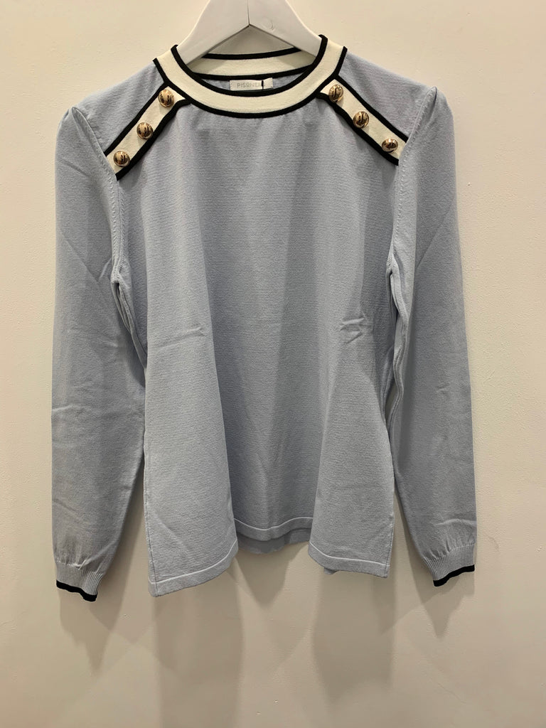 Pisonero Amazing Sweater Sky Blue