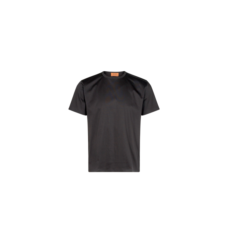Gallery Perry Basic SS Tee Dark Grey
