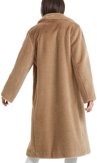 Marc Cain Long fleece coat