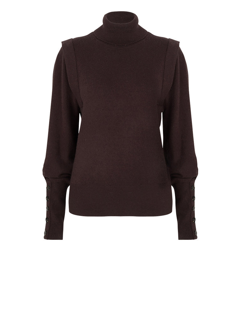 Dante 6 Quentin Sleeve Detail Sweater