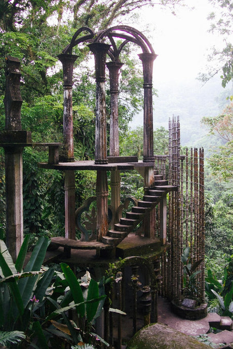 Las Pozas, Xilitla Mexico by Edward James