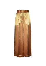 Load image into Gallery viewer, Caramel wide-leg trousers