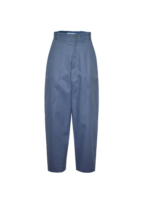 Smoke Blue high waisted trousers