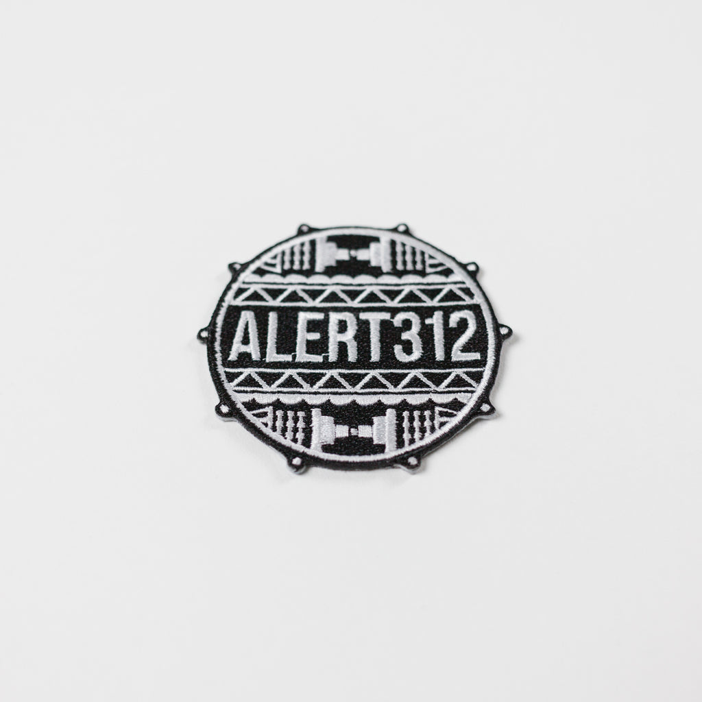 ALERT312 Drum Head Patch