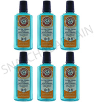 6 x ARM & HAMMER 3 IN 1 SMOKERS MOUTHWASH 400ml FIGHTS PLAQUE