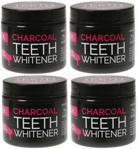 4 XOC Activated Charcoal Teeth Whitener Powder 60g 100% Natural Amazing Results