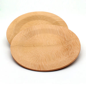 50 st Bamboo round plate